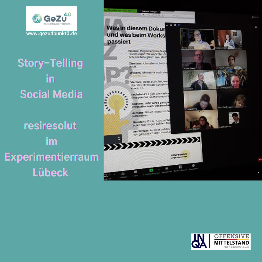 Story-Telling in Social Media