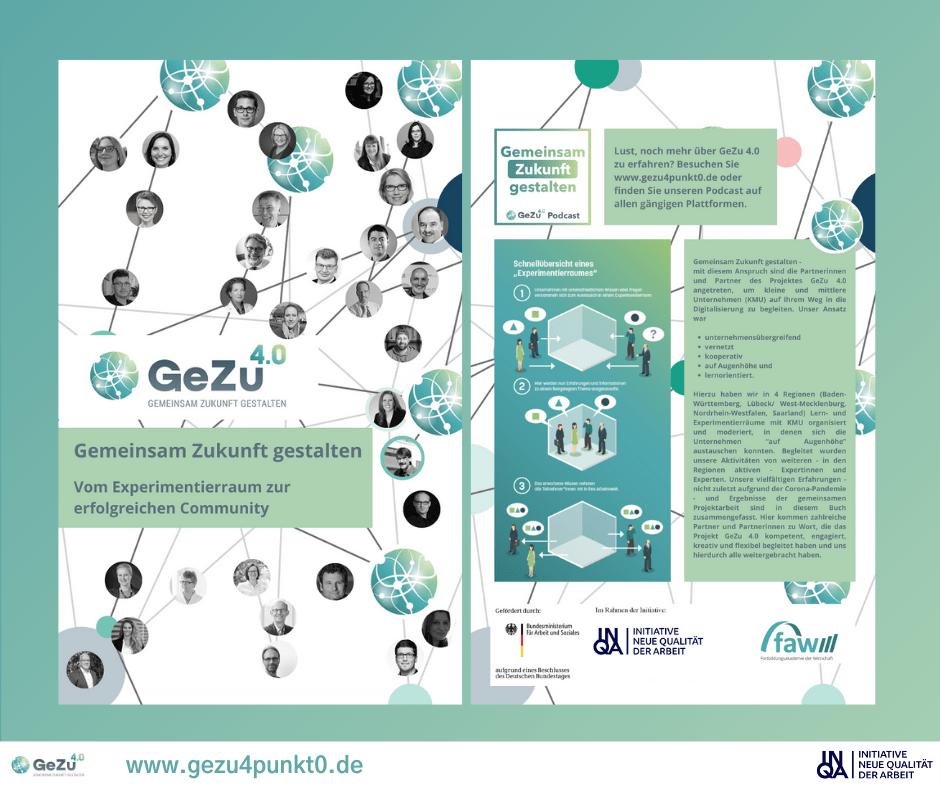 Ausblick: Das GeZu 4.0-Community Buch und die Abschlussveranstaltung
