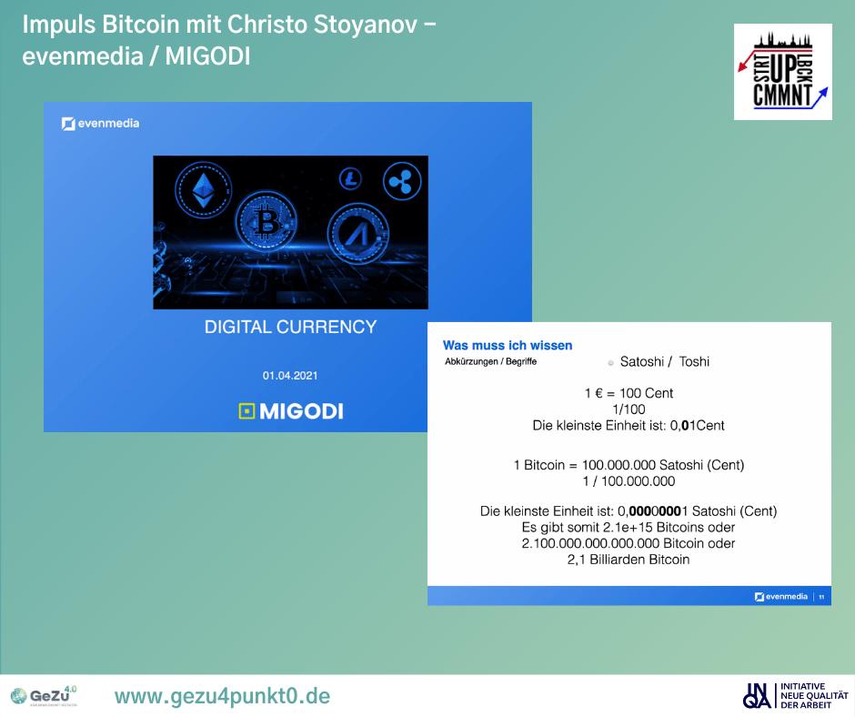 Gemeinsam Lernen und neue Technologien kennenlernen – Bitcoins und Co.