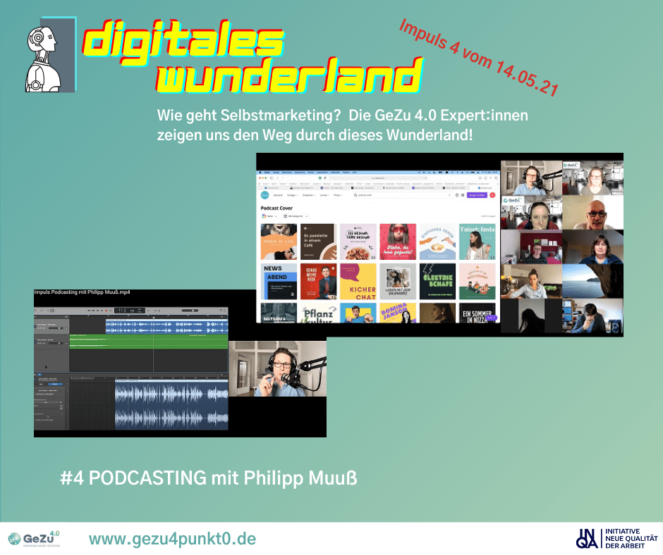 Schritt 4 der Reise durchs digitales Wunderland – Impuls Podcasting mit Philipp Muuß
