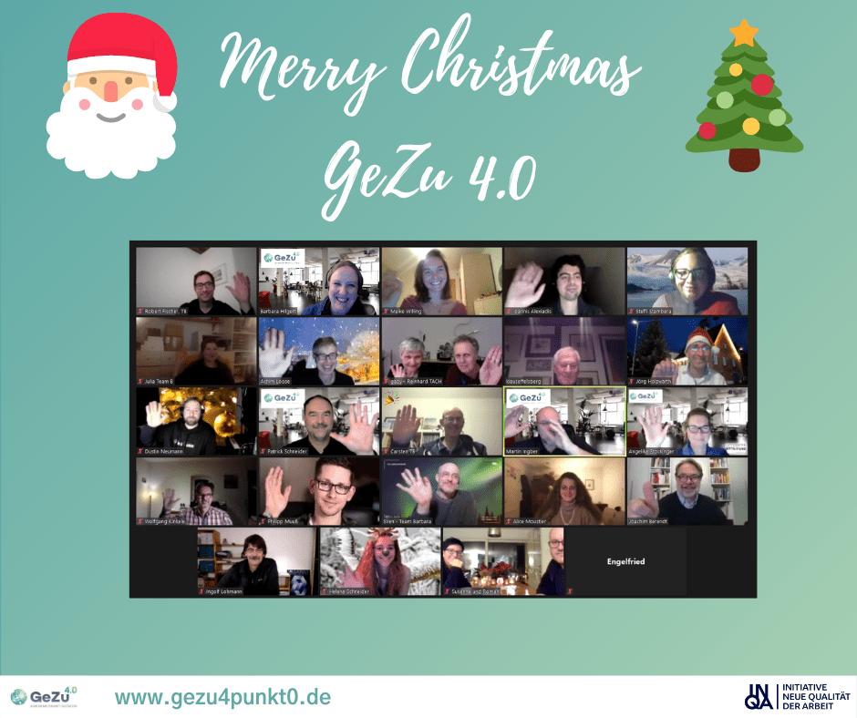 Weihnachten im Corona-Jahr 2020 – eine besondere Feier für die Community von GeZu 4.0