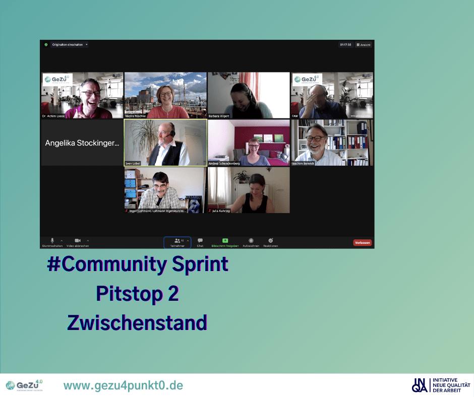 Gemeinsam ein Buch zu schreiben macht viel Spaß – Community Sprint Pitstop 2